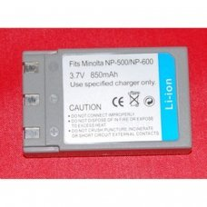 Replacement for  MINOLTA NP500/NP600