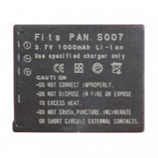Replacement for  PANASONIC CGA-007E/BCD10