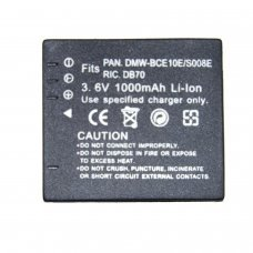Replacement for  PANASONIC CGA-008E/BCE10E