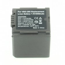 Replacement for  PANASONIC VW-VBG260