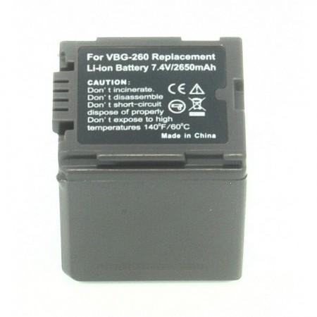 Batería compatible  PANASONIC VW-VBG260 PANASONIC  8.00 euro - satkit