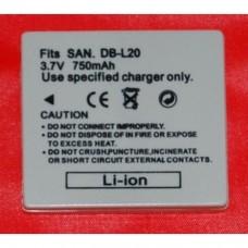 Batería compatible  SANYO DB-L20