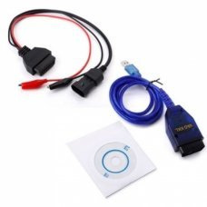 Fiat 3pin OBD2 KKL VAG 409.1 USB+Fiat ECU Scan Diagnosis Interface Alfa Fiat