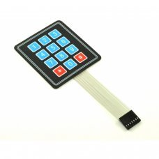 Flex keypad Matrix 4x3[Arduino Compatible]