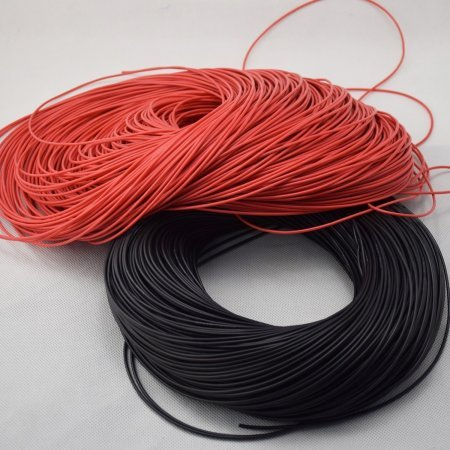 Flexible Silicone Cable, 22 AWG section resistant up to 200 ° and 600v Electronic equipment  0.70 euro - satkit