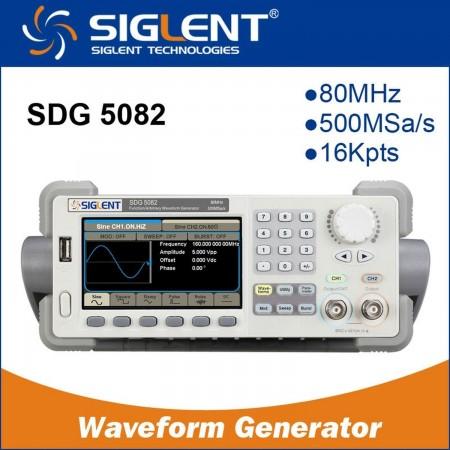 Function/Arbitrary Waveform Generator  SIGLENT SDG5082 80MHZ Color Signal generators (functions) Siglent 410.00 euro - satkit