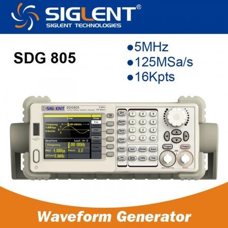 Function/Arbitrary Waveform Generator  SIGLENT SDG805 5MHZ Color Signal generators (functions) Siglent 159.00 euro - satkit