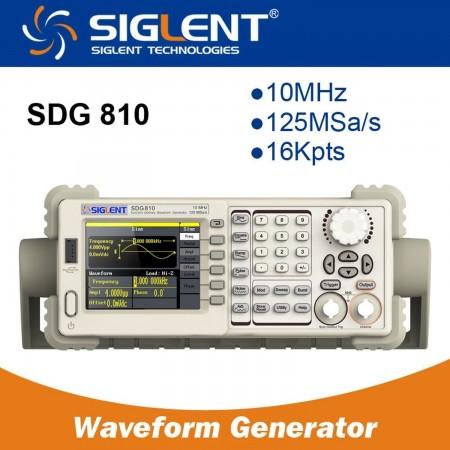 Function/Arbitrary Waveform Generator  SIGLENT SDG810 10MHZ Color Signal generators (functions) Siglent 177.00 euro - satkit