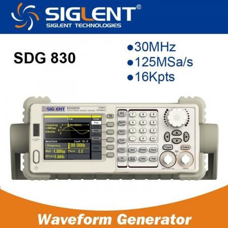 Function/Arbitrary Waveform Generator  SIGLENT SDG830 30MHZ Color Signal generators (functions) Siglent 207.00 euro - satkit