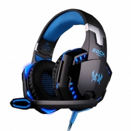 G2000 Gaming Headset PC Mic Stereo Conexion USB + 3,5mm (Auriculares + Micrófono) INFORMATICA Y TV SATELITE  13.00 euro - satkit