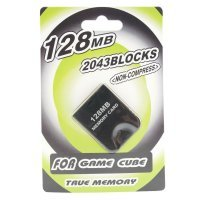 128MB Memory Card for Nintendo GameCube