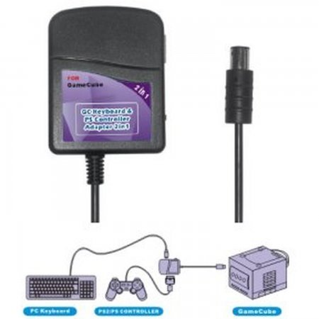 Adaptador Teclado + Mando Ps2/Psx para Nintendo GameCube GAMECUBE, N64, SNES  4.95 euro - satkit