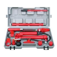 Hydraulic Power Jack Body Porta Frame Kit Car Van Repair Tool 10 Ton