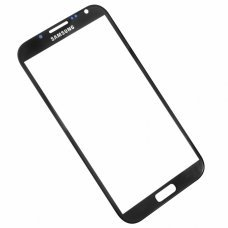 Glass Black Replacement Front Outer Screen For Samsung Galaxy NOTE 2