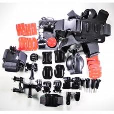Kit accesorios de 33 piezas para GoPro HERO3+,GoPro HERO3,GoPro HERO2, GoPro HERO , GoPRO 4, SJ4000