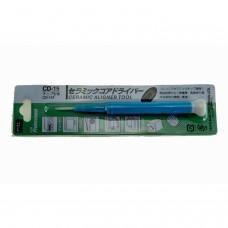 GOOT CD-25 Destornillador ajustador ceramico para potenciometros 2,6MMX0,4MM