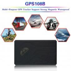Auto GPS/GPRS 108B Tracker TK108B Car Vehicle Tracker with Battery