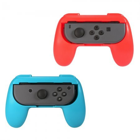 2pcs Grips for Nintendo Switch Portable Handle Game Console Joy-con Left Right Controller