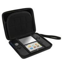 Funda rígida con cremallera almacenamiento y transporte Nintendo 2DS