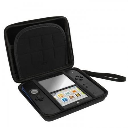 Funda rígida con cremallera almacenamiento y transporte Nintendo 2DS NINTENDO 2DS  2.50 euro - satkit