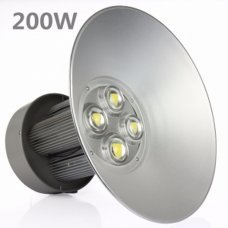 Campana Industrial LED 200W 6000K Luz brillante PF 0,95 potencia 100% real High bay LED