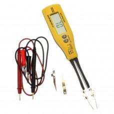 HoldPeak HP-990B Tweezer SMD Meter Multimeter Diode Resistor Capacitor Battery Tester
