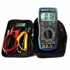 HP-760B HoldPeak Digital Multimeter 20a LED capacity HFE ° C Ohm to V