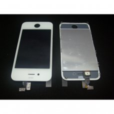 iphone 4S Lcd screen with touch digitizer and glass ready to install
