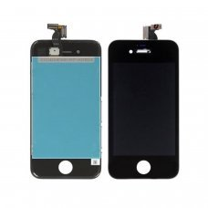 iphone 4S Lcd screen with touch digitizer and glass ready to install BLACK