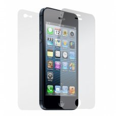 iphone 5/5s screen anti scratch screen protector Front & Back