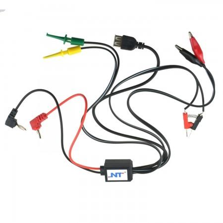 Cables fuente alimentacion regulable EXCEL Equipos electrónicos  4.50 euro - satkit