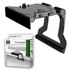 Soporte negro clip de tv televisor compatible para sensor Kinect XBOX 360