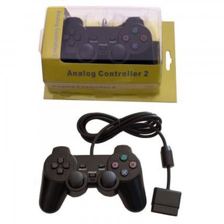 Compatible PS2 Dual Shock Pad CONTROLLERS SONY PSTWO  4.50 euro - satkit