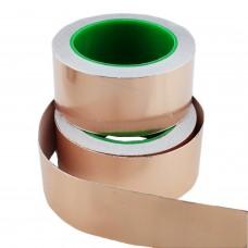 Cinta de cobre adhesiva 50mm x 20 metros