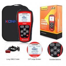 Konnwei KW808 escaner diagnosis coche OBD2 OBDII CAN BUS Auto MULTIMARCA ms509
