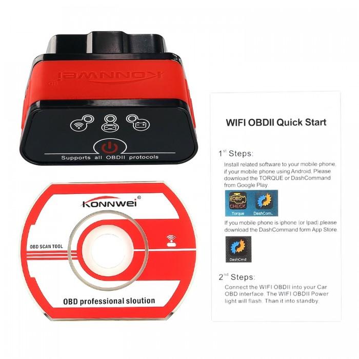 CAR DIAGNOSTIC CABLE : Buy KW903 ELM327 Bluetooth OBDII OBD2