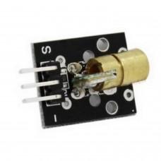 LASER Transmitter Module 5V 6mm 5mW 650nm Red color Arduino