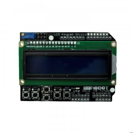 LCD1602 Keypad Shield for Arduino [Arduino Compatible] ARDUINO  4.00 euro - satkit