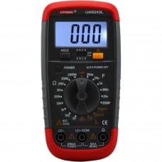 Medidor LCR Digital  UA6243L (impedancia, capacidad, resistencia, comprobacion transistores)