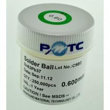 Bote bolas estaño con plomo 0,45mm 250.000 ud
