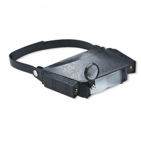 Lupa con soporte para cabeza y luz Lupas  8.50 euro - satkit
