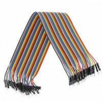 40pcs macho macho cable Du Pont Jumper Cable 30cm para Arduino Breadboard[Proyectos Arduino]