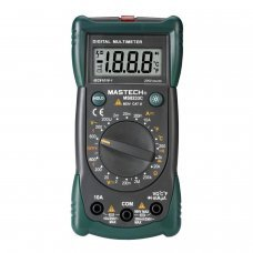 Mastech MS8233C - Polímetro digital (con termopar tipo K, comprobacion diodos)