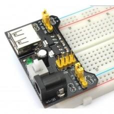 Kit fuente de alimentación DC/USB 5V/3.3V para placa prototipo [ARDUINO]