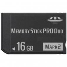 MEMORY STICK PRO DUO 16GB  (COMPATIBLE WITH PSP)