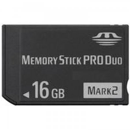 MEMORY STICK PRO DUO 16GB  (COMPATIBLE WITH PSP) MEMORY STICK AND HD PSP 3000  18.00 euro - satkit