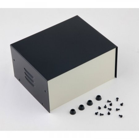 Metal Project box 180x145x90mm PROJECT BOXES  16.00 euro - satkit