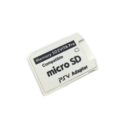 Adaptador de tarjeta de memoria Micro SD PSVita SD2VITA  V5.0 PSVITA  2.50 euro - satkit
