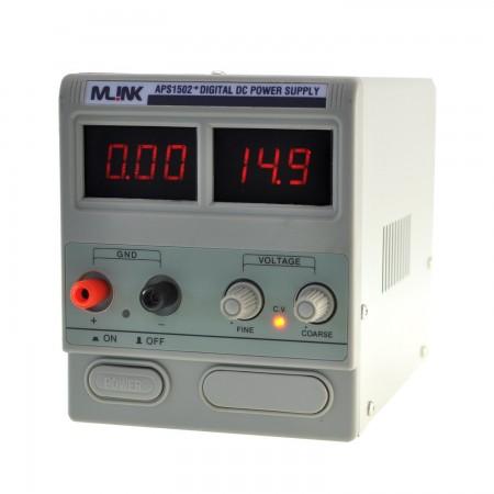 MLINK APS1502+ 15V,2A  Fuente Alimentacion regulable con display digital Fuente alimentación Mlink 19.99 euro - satkit