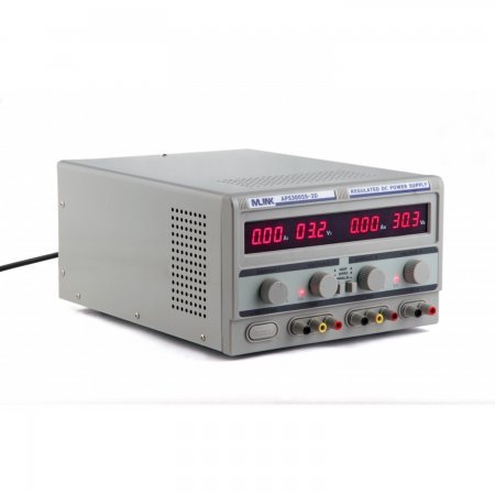 MLINK APS3005S-3D - 30V, 5A REGULATED ADJUSTABLE TRIPLE DC POWER SUPPLY Source feed Mlink 99.00 euro - satkit